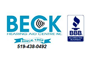 Beck Hearing Aid Centre Inc.